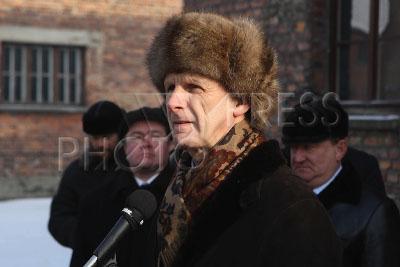 Андрей Фурсенко на мероприятиях, посвященных 65-й годовщине освобождения Освенцима
