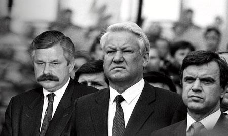 Борис Ельцин и Руслан Хасбулатов, 1991 год © РИА Новости, Юрий Абрамочкин