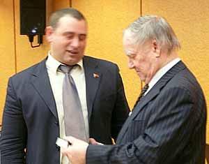Максим Калашников и Сергей Капица