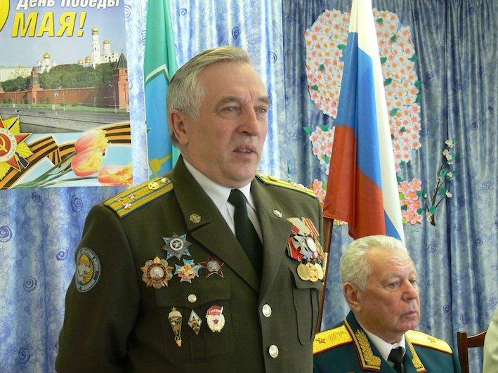 глава Союза десантников России Павел Поповских