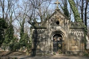 Ольшанское кладбище  в Праге