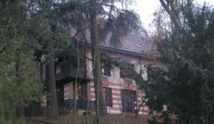 дом Тургенева в парижском пригороде Буживаль