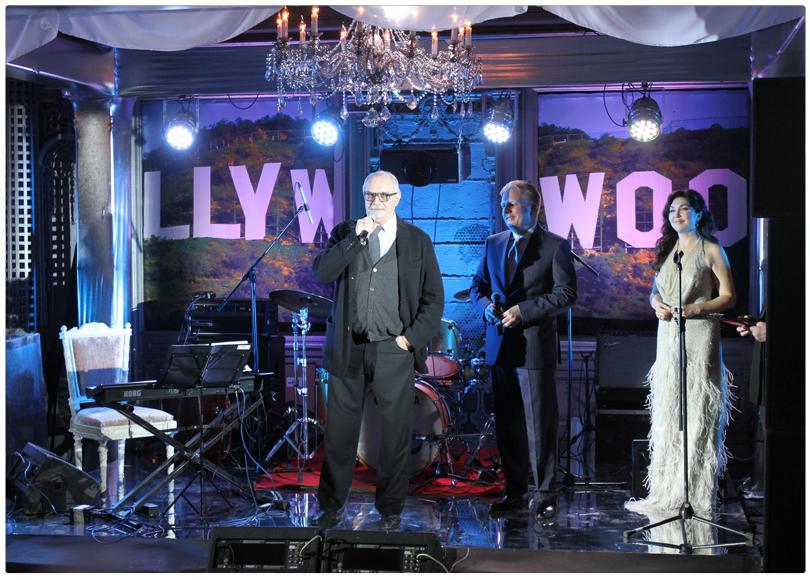 Учредители журнала The Hollywood Reporter Никита Михалков и Сергей Федотов