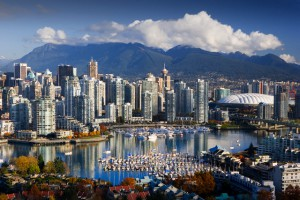 Vancouver, British Columbia, Canada --- Coal Harbor in Vancouver --- Image by © Jose Fuste Raga/Corbis