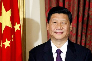 Vice President Xi Jinping of the People's Republic of China attends a trade agreement ceremony at Dublin Castle, Ireland, Sunday, Feb. 19, 2012.  (AP Photo/Peter Morrison)