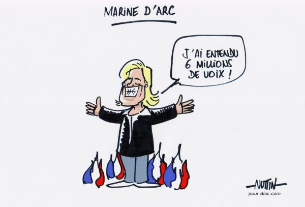 caricature-marine-le-pen