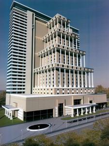 Первоначальный проект гостиницы «Флория»