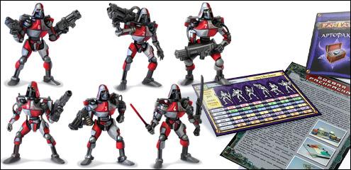 Набор солдатиков 'Киборги' Технолог Битвы Fantasy_2