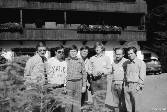 Студенты Йельского университета Шохин, Авен, Нечаев, Улюкаев, Чубайс, Машиц, Глазьев, 1990–е годы, США