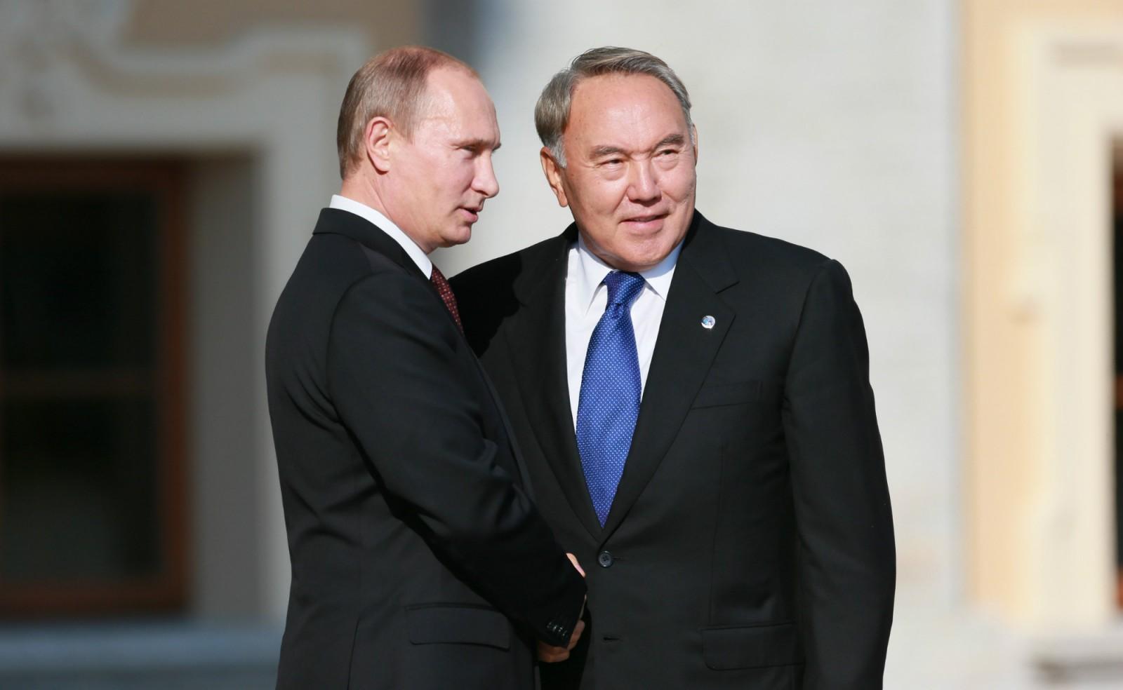 Nazarbaev-Putin