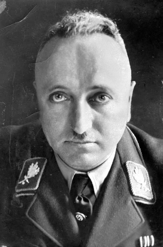 Вождь Трудового фронта рейхсляйтер Роберт Лей, 1939 г.