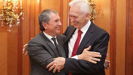Игорь Сечин иГеннадий Тимченко
