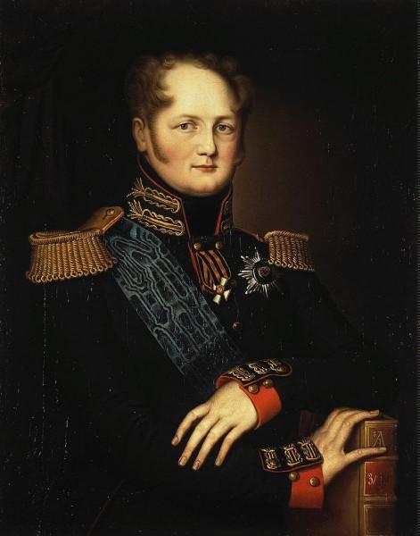 Портрет императора Александра I. Неизвестный художник. Государственный Эрмитаж, Санкт-Петербург
