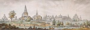 G.Quarenghi_-_Views_of_Moscow_and_its_Environs_-_Panorama_of_the_Villages_of_Kolomenskoye_and_Dyakovo_-_1797