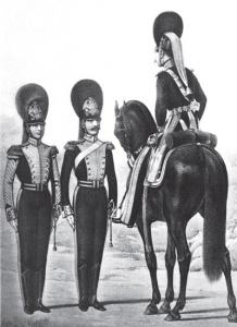 Трубач, унтер-офицер и обер-офицер Л.-гв. Конно-Гренадерского полка в 1832–1841 гг.