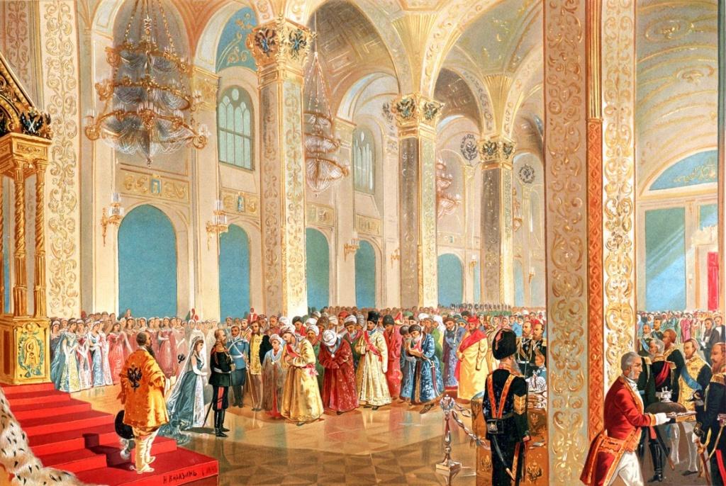15. Каразин Н.Н. Государь император принимает поздравления от представителей азиатских народов