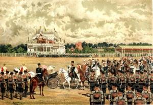 Макаров Иван Кузьмич (1822-1897) Прибытие государя на парад