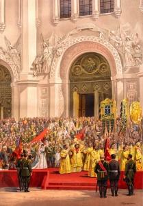 Верещагин В.П. Выход из храма Спасителя