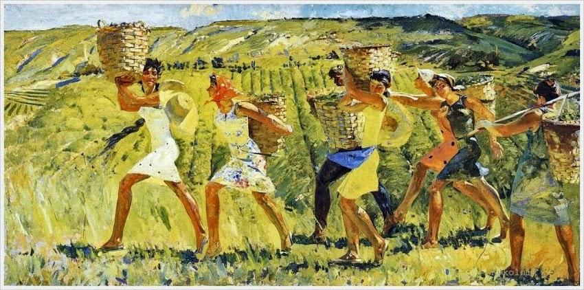Габуния Михаил Давыдович (1928-1999) «Сборщики чая»