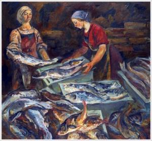 Кутилин Владимир Александрович. «В рыбном ряду»