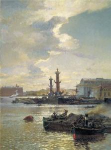 Александр Карлович Беггров. Петербургская Биржа,1891 г.