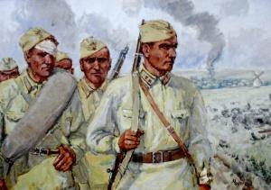 Остапенко Мефодий. В августе 1942-го.