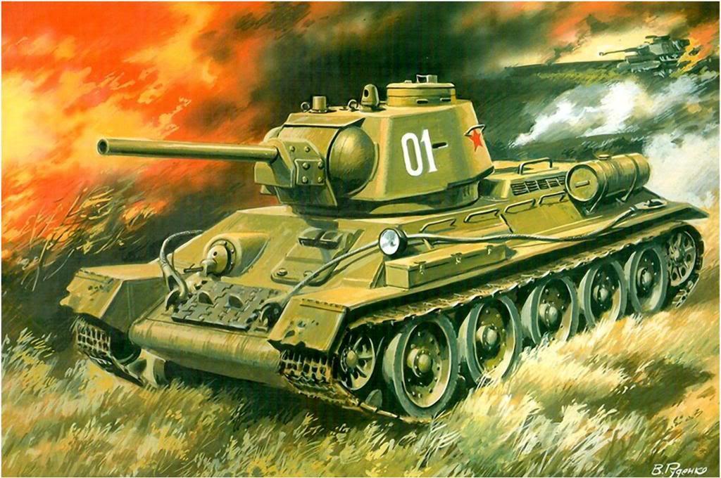 Руденко Валерий. Танк Т-34-76.