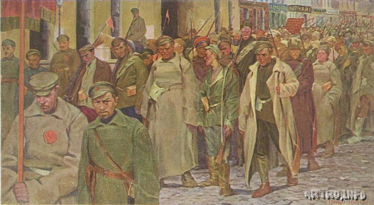 КУЗНЕЦОВ Владимир Александрович (1874-1960 г.). Красная армия в 1919 г., 1921