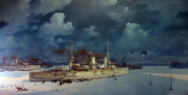 Зимовка кораблей Балтийского флота в Гельсингфорсе. 1916-1917 гг.