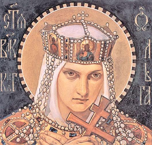 Н. А. Бруни. Святая великая княгиня Ольга. 1901 г.