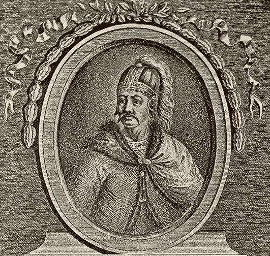 Олег, Киевский князь. Гравюра. 1805 г.