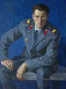 Казанчан Корюн Геворкович (1920-1993) «Портрет старшины Владислава Лозовского» 1971