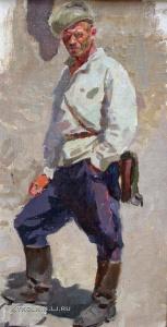 Апанович Виктор Антонович (1922-2004) «Милиционер» 1950-е