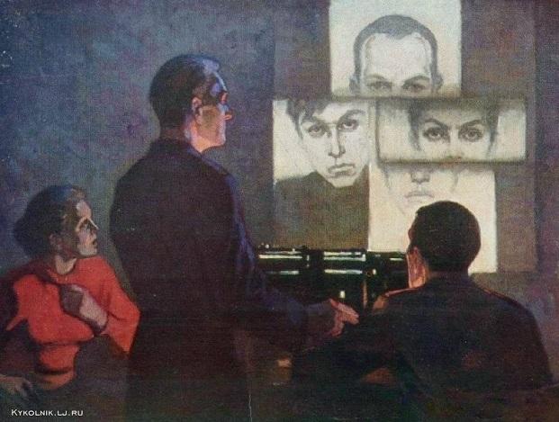 Трузе-Терновская Юлия Николаевна (Россия, 1917) «Словесный портрет» 1977