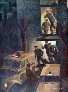 Меренков Михаил Андреевич (Россия, 1936) «Тревога» 1977