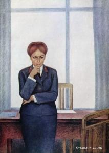 Жанков Георгий Дмитриевич (Россия, 1921) «Следователь»