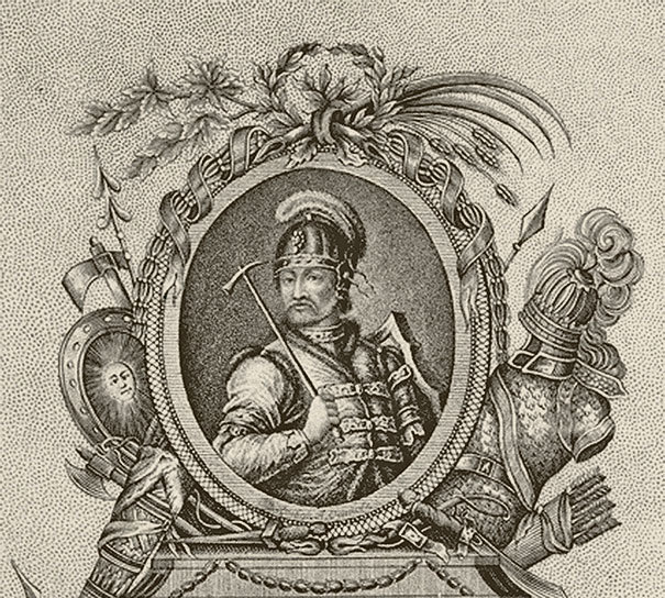 «Рюрик. Великий князь Российский». Гравюра. 1805 г.