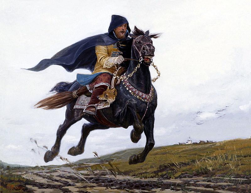 Государев человек. Опричник. XVI век. Худ. С. Ефошкин