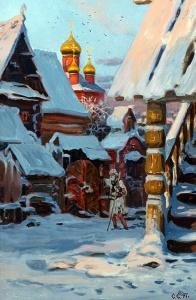 Старая Москва. ХVIв. Худ. Сергей Ефошкин
