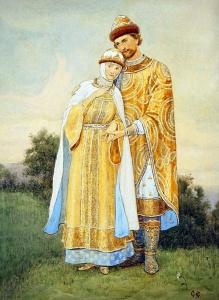 С. Ефошкин. Князь с княгинюшкой