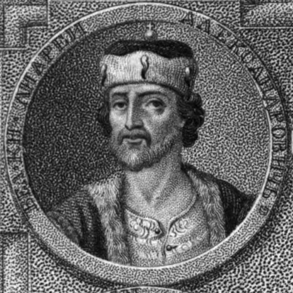 Великий князь Андрей Александрович (? Андрей Городецкий) (история России в гравюрах от Рюрика до Екатерины II)