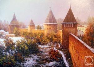 Фомин Никита. у древних стен Смоленска