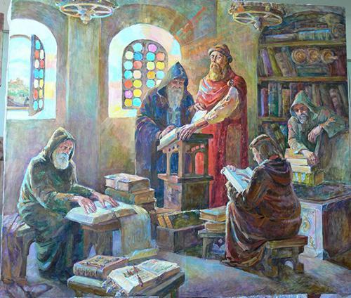 Библиотека Ярослава Мудрого. Автор Гальчинская Ольга.