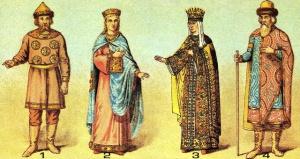 Костюмы Руси XII — XIII века