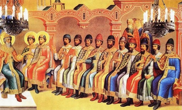 великий князь владимир с сыновьями 177206