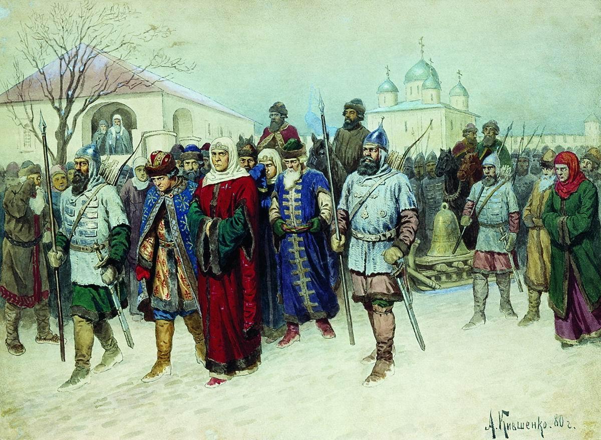 Переселение новгородцев. (1)