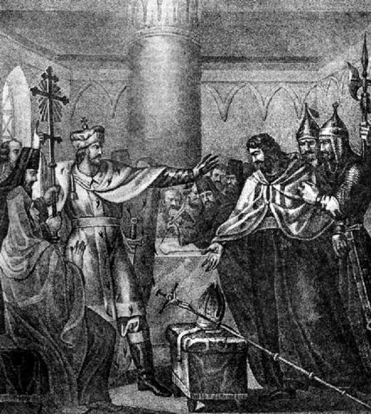Василий Темный отвергает латинство 234507_600