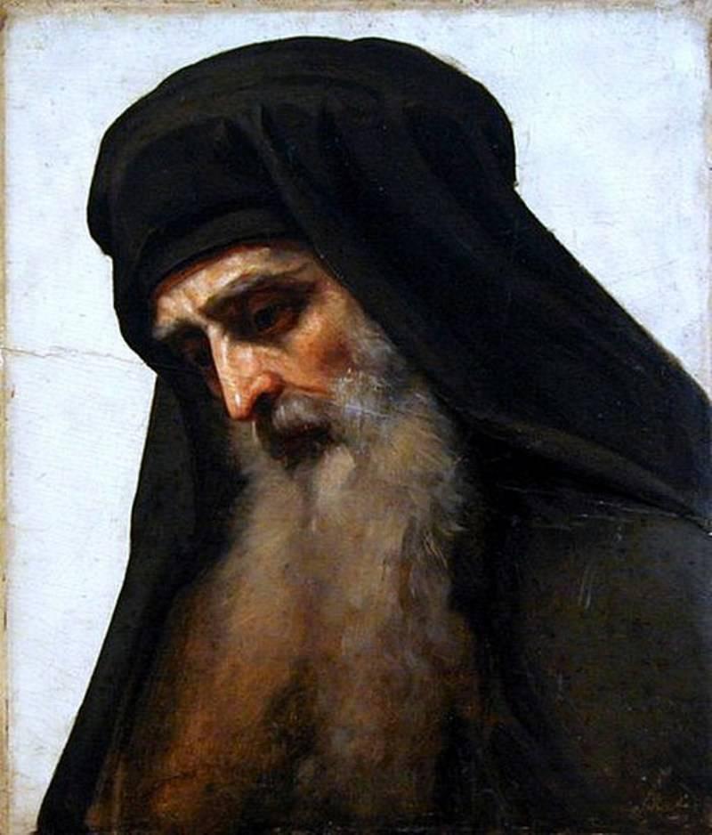 И.Крамской «Голова монаха»