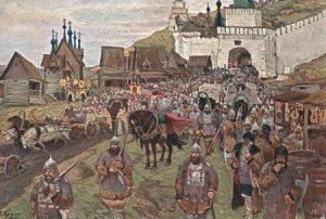 1415089964_vyhod-narodnogo-opolcheniya-minina-i-pozharskogo-iz-nizhegorodskogo-kremlya-hudozhnik-p-krasnov-1912-g