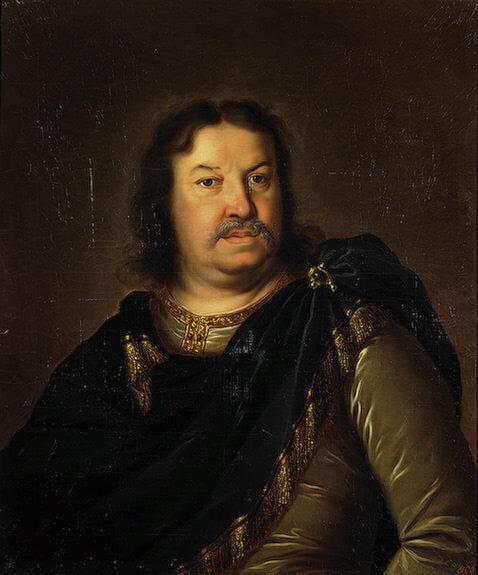 Шарль Лебрен. Портрет Я. Ф. Долгорукова, написанный в 1687 году в Париже.